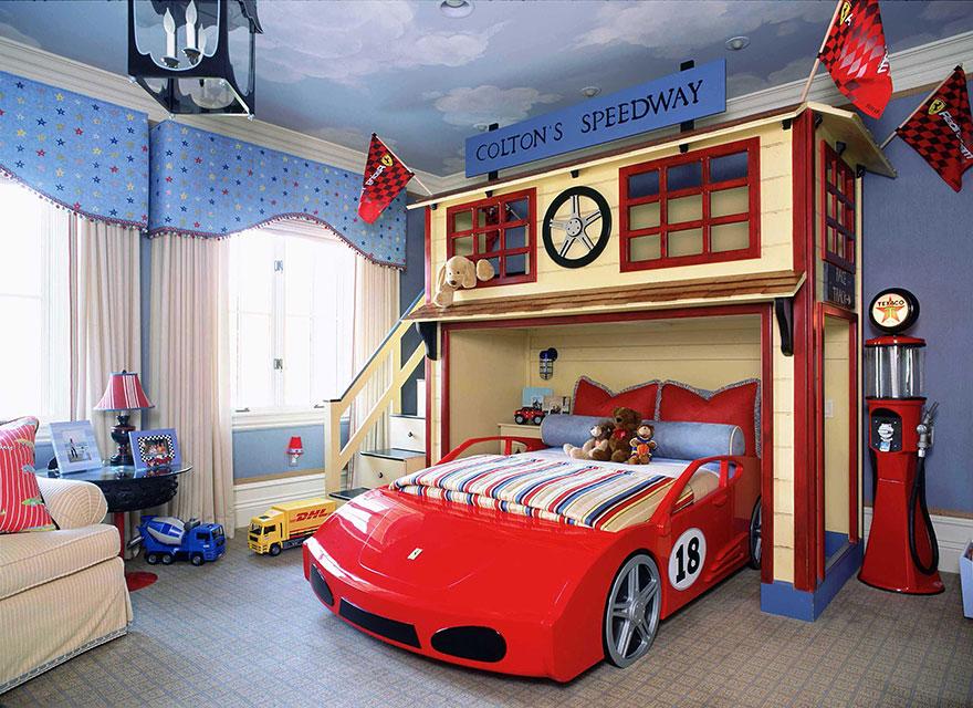 غرفة أطفال بديكور مميز 12 غرف نوم أطفال متميزة جدًا بديكورات مستوحاة من اهتماماتهم