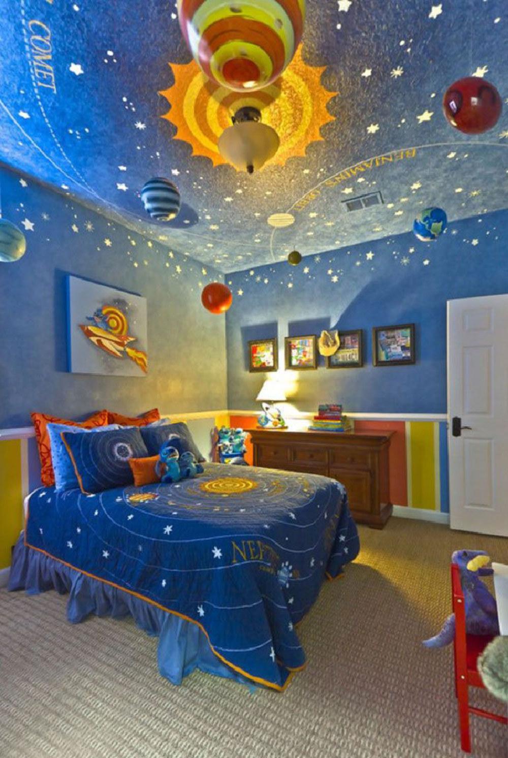 غرفة أطفال بديكور مميز 3 غرف نوم أطفال متميزة جدًا بديكورات مستوحاة من اهتماماتهم