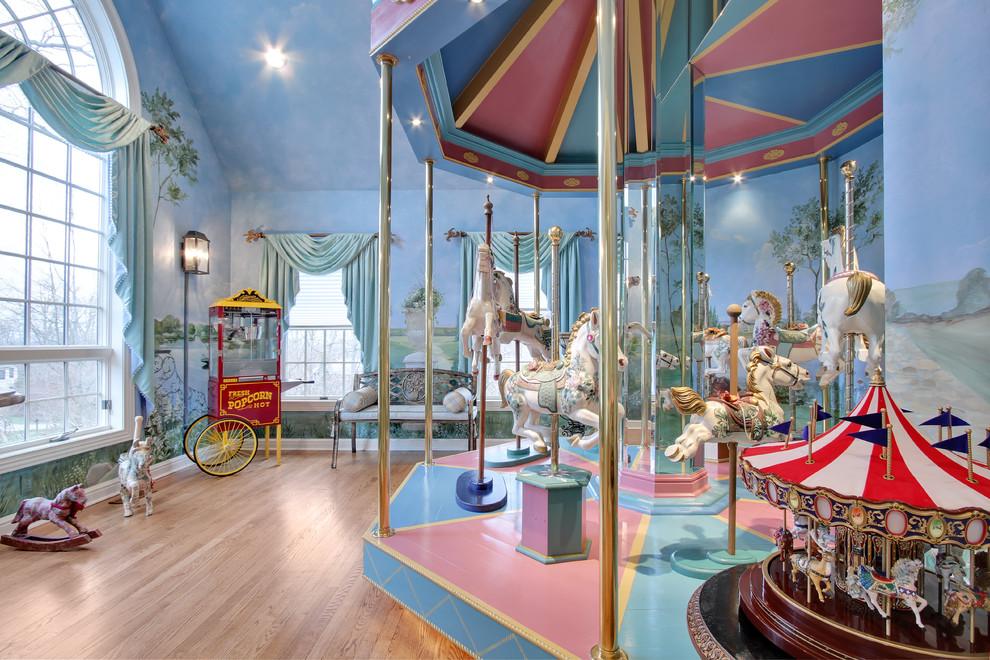 غرفة أطفال بديكور مميز 4 غرف نوم أطفال متميزة جدًا بديكورات مستوحاة من اهتماماتهم