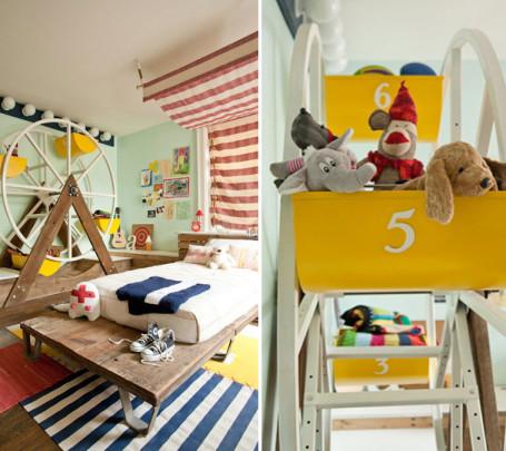 غرفة أطفال بديكور مميز 5