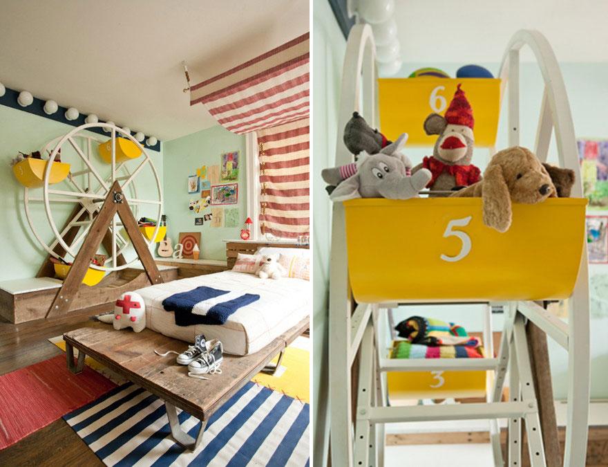غرفة أطفال بديكور مميز 5 غرف نوم أطفال متميزة جدًا بديكورات مستوحاة من اهتماماتهم