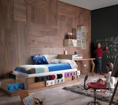 غرف أطفال مبتكرة جدًا بتصميمات مستوحاة من الألعاب