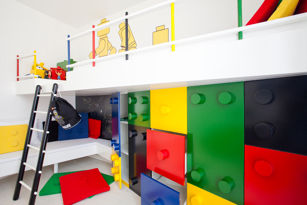 غرفة أطفال مبتكرة 4ا غرف أطفال مبتكرة جدًا بتصميمات مستوحاة من الألعاب