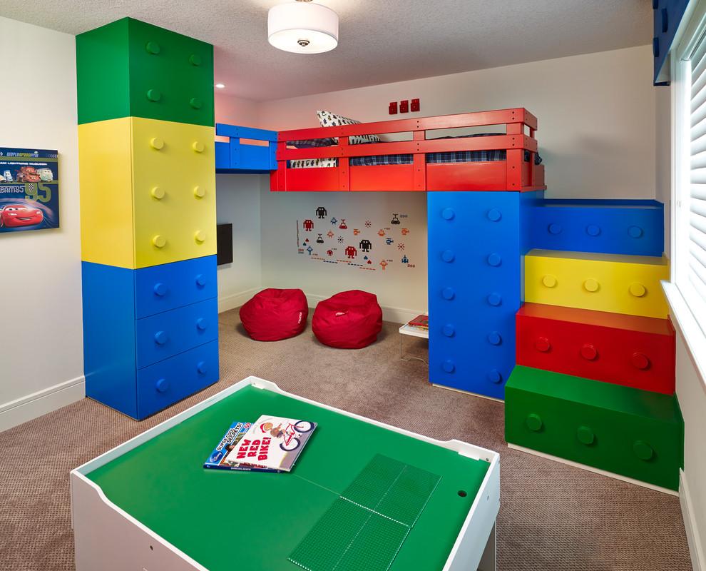 غرفة أطفال مبتكرة 5 غرف أطفال مبتكرة جدًا بتصميمات مستوحاة من الألعاب