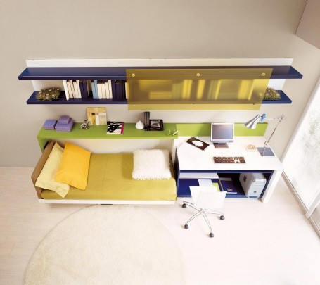 تصميمات أثاث ذكية لتوفير المساحة في غرفة طفلك