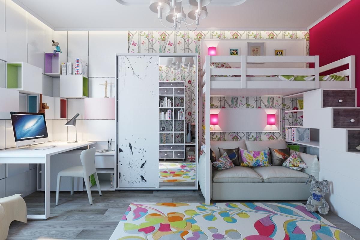 غرفة أطفال 1 غرف أطفال رائعة بلمسات فنية مبهجة