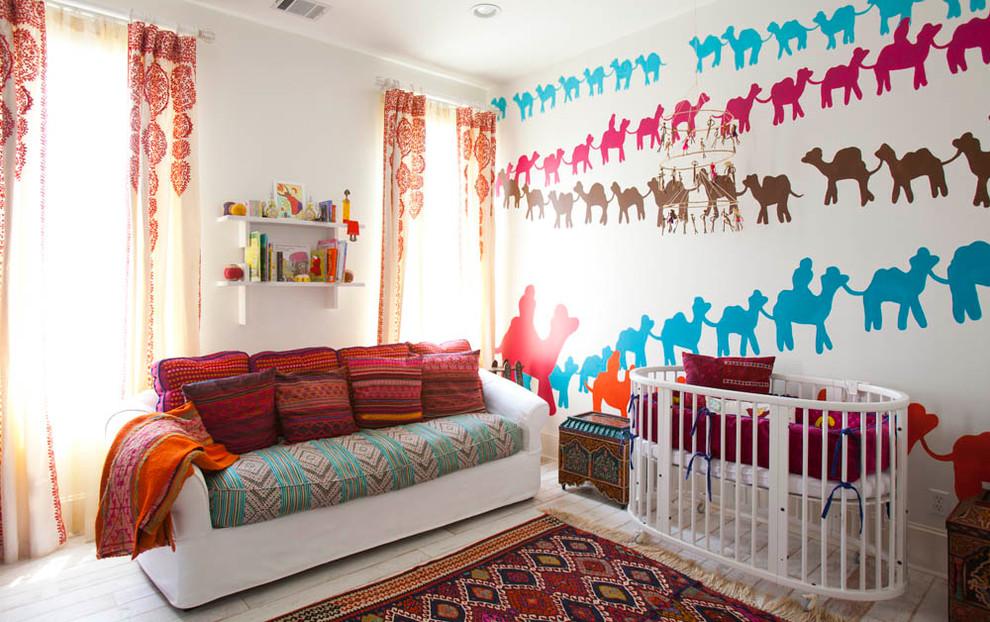 غرفة الأطفال سحر الشرق وحداثة المودرن في منزل واحد
