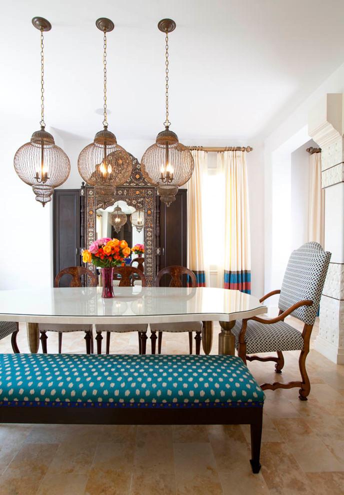 غرفة الطعام سحر الشرق وحداثة المودرن في منزل واحد