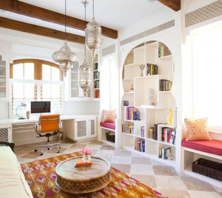 سحر الشرق وحداثة المودرن في منزل واحد