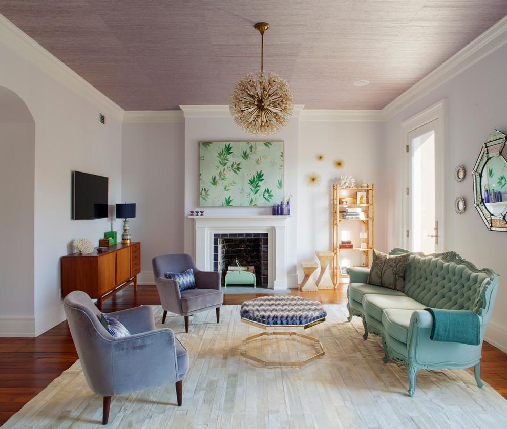 غرفة جلوس باستيل 3 غرف جلوس مشرقة بدرجات الباستيل الرقيقة