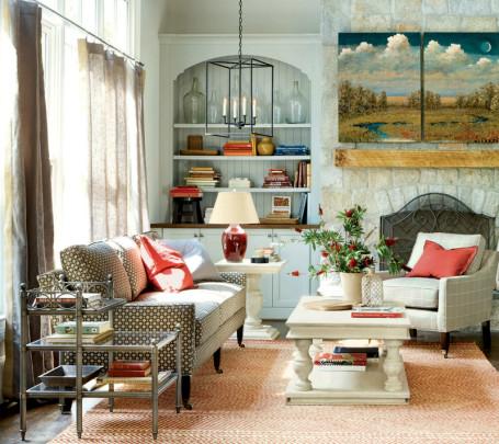 رقي الألوان وأناقة التصميم  في 10 غرف جلوس ساحرة