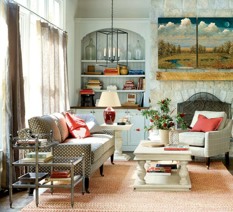 غرفة جلوس راقية 3 رقي الألوان وأناقة التصميم  في 10 غرف جلوس ساحرة