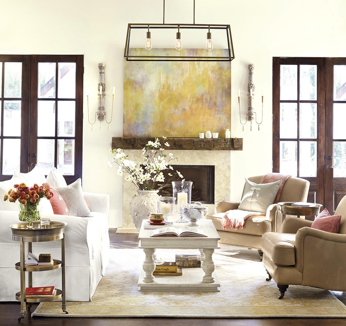 غرفة جلوس راقية 4 رقي الألوان وأناقة التصميم  في 10 غرف جلوس ساحرة