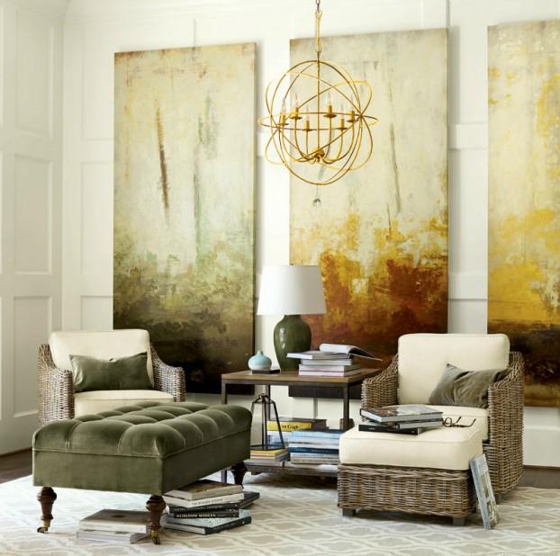 غرفة جلوس راقية 5 رقي الألوان وأناقة التصميم  في 10 غرف جلوس ساحرة