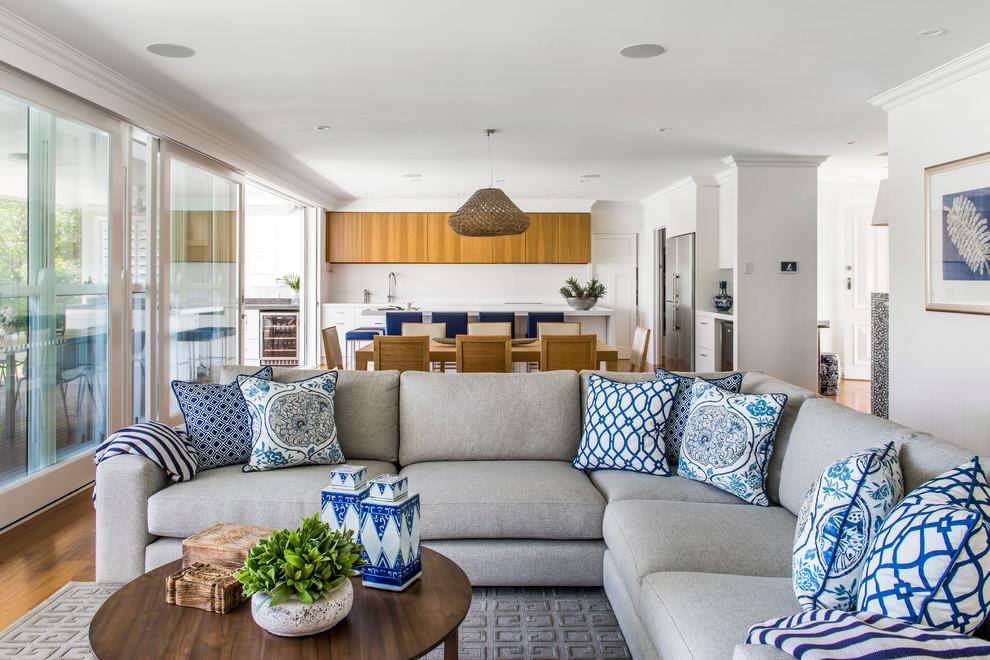 غرفة جلوس زرقاء 2 15 غرفة جلوس رائعة لمحبي اللون الأزرق