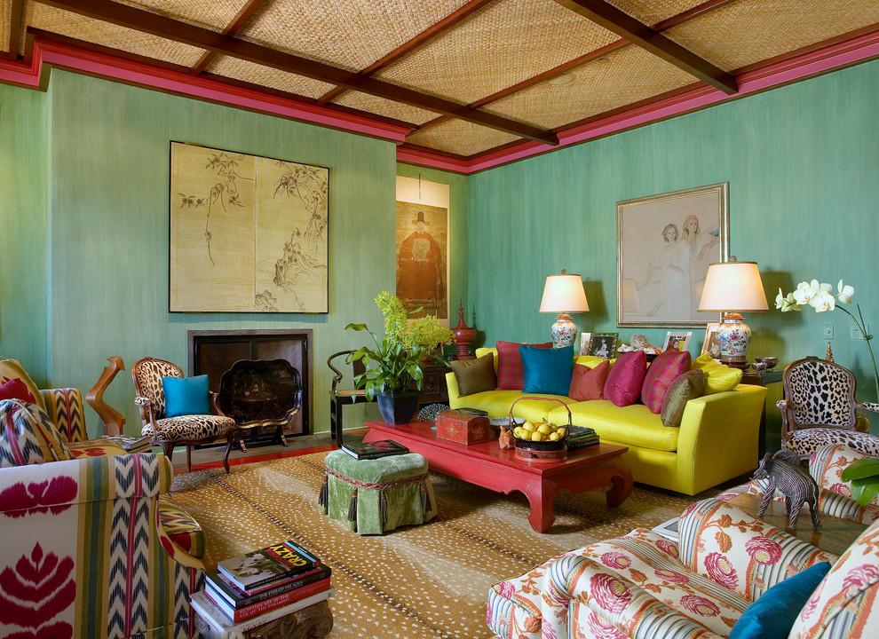 غرفة جلوس مشرقة الألوان 12 8 نصائح لإستخدام الألوان المشرقة في غرفة الجلوس