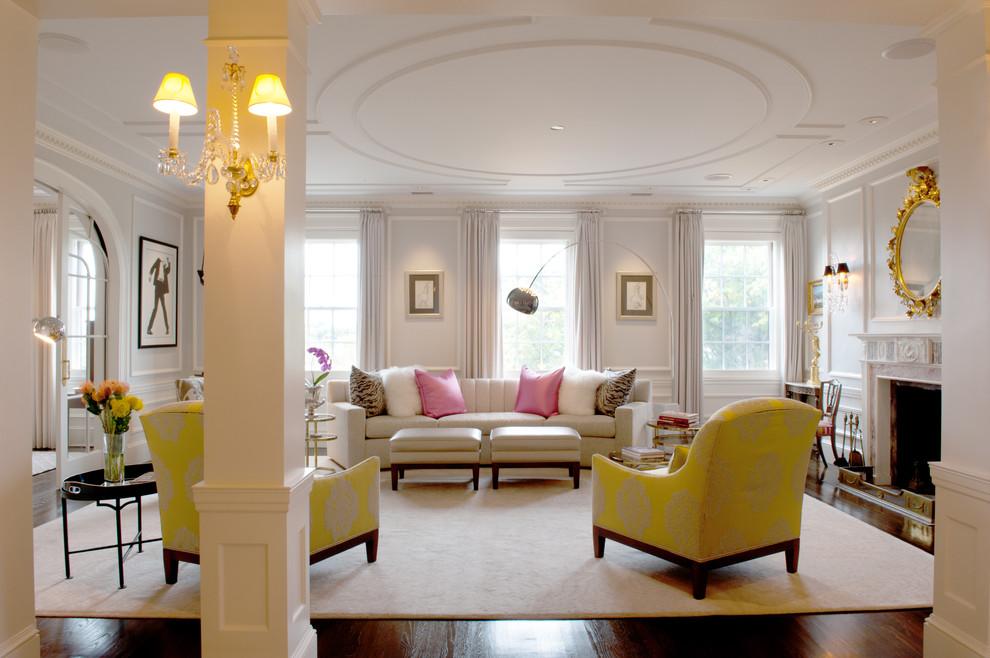 غرفة جلوس مشرقة الألوان 4 8 نصائح لإستخدام الألوان المشرقة في غرفة الجلوس