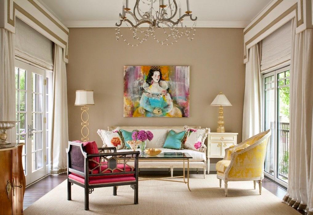 غرفة جلوس مشرقة الألوان 5 8 نصائح لإستخدام الألوان المشرقة في غرفة الجلوس
