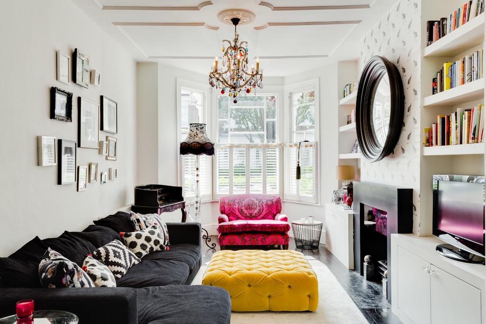 غرفة جلوس مشرقة الألوان 7 8 نصائح لإستخدام الألوان المشرقة في غرفة الجلوس