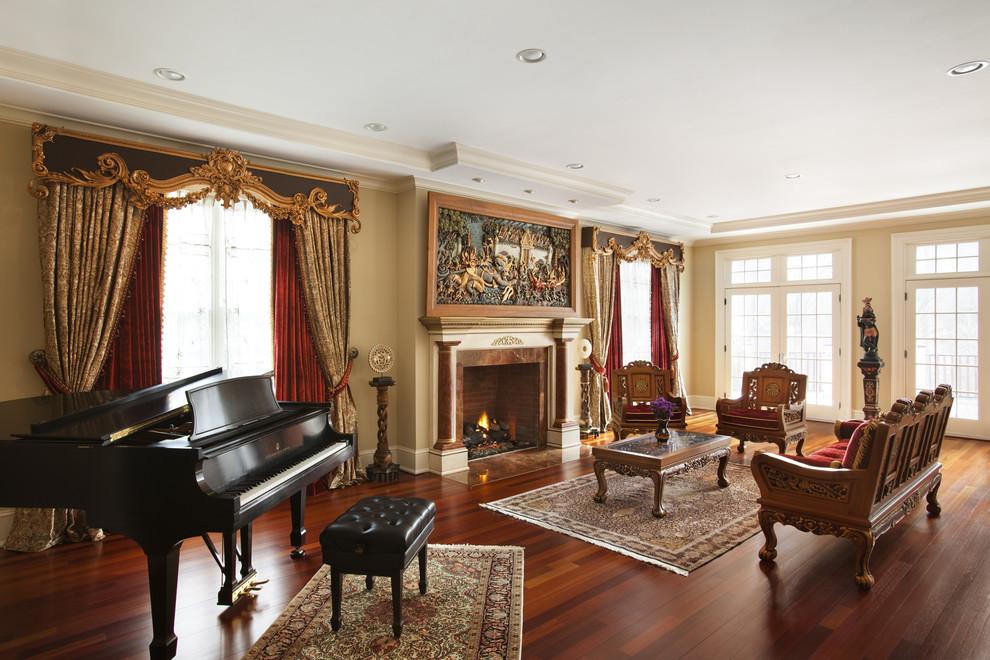غرفة جلوس ملكية 12 تصاميم غرف جلوس مبهرة تليق بالقصور الملكية