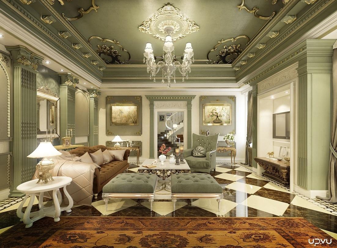 غرفة جلوس ملكية 5   مجلة ديكورات   عالم من ديكور المنازل و التصميم