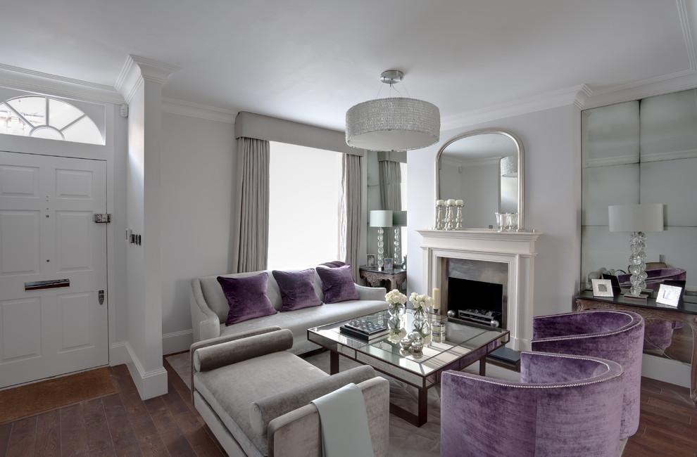 غرفة جلوس مودرن بتفاصيل كلاسيكية 10 غرف معيشة أنيقة تجمع عصرية المودرن وفخامة الكلاسيك