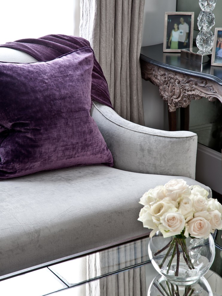 غرفة جلوس مودرن بتفاصيل كلاسيكية 12ا غرف معيشة أنيقة تجمع عصرية المودرن وفخامة الكلاسيك