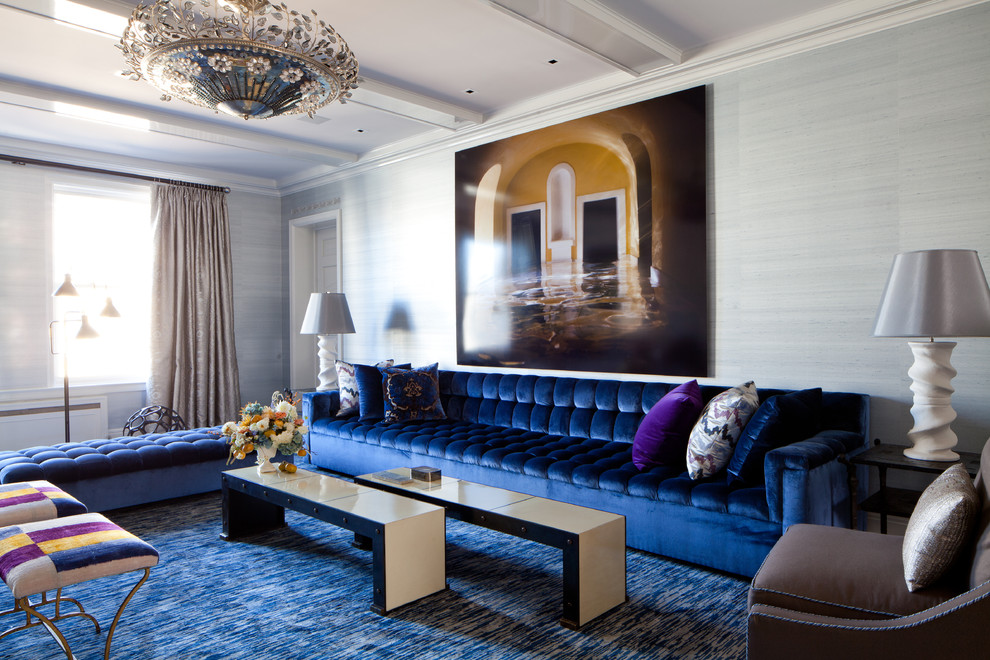 غرفة جلوس مودرن بتفاصيل كلاسيكية 3 غرف معيشة أنيقة تجمع عصرية المودرن وفخامة الكلاسيك