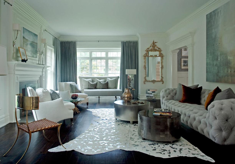 غرفة جلوس مودرن بتفاصيل كلاسيكية 8 غرف معيشة أنيقة تجمع عصرية المودرن وفخامة الكلاسيك
