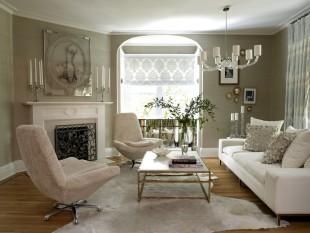غرف معيشة أنيقة تجمع عصرية المودرن وفخامة الكلاسيك