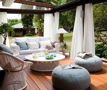 ديكورات خيالية لحدائق المنازل