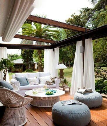 غرفة جلوس 1 ديكورات خيالية لحدائق المنازل