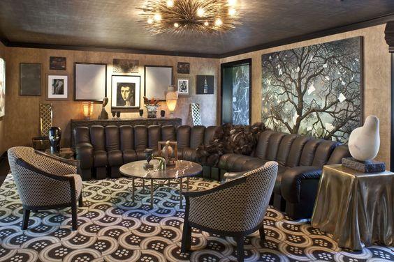 غرفة جلوس أجمل تصميمات مهندسة الديكور كيليويرستلر (Kelly Wrestler)