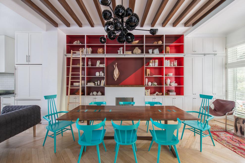 غرفة سفرة بكراسي مختلفة 31 كيف تستخدمين الكراسي المختلفة لتصميم غرفة سفرة مميزة وأنيقة