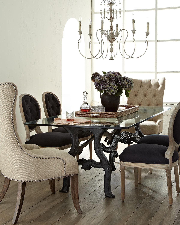 غرفة سفرة بكراسي مختلفة 6 1200x1500 كيف تستخدمين الكراسي المختلفة لتصميم غرفة سفرة مميزة وأنيقة