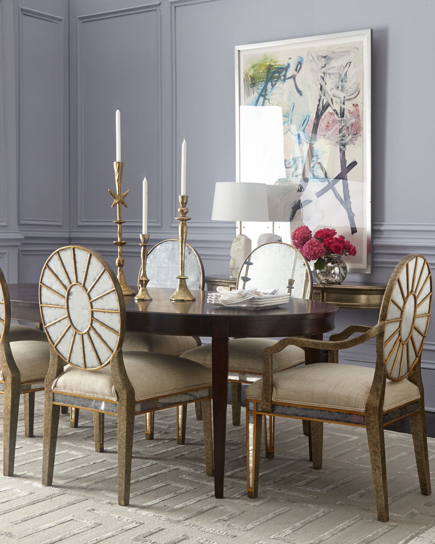 غرفة سفرة راقية 14 1200x1500 الرقي والفخامة في تصميمات غرف سفرة كلاسيكية بألوان هادئة