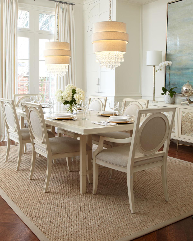غرفة سفرة راقية 5 1200x1500 الرقي والفخامة في تصميمات غرف سفرة كلاسيكية بألوان هادئة