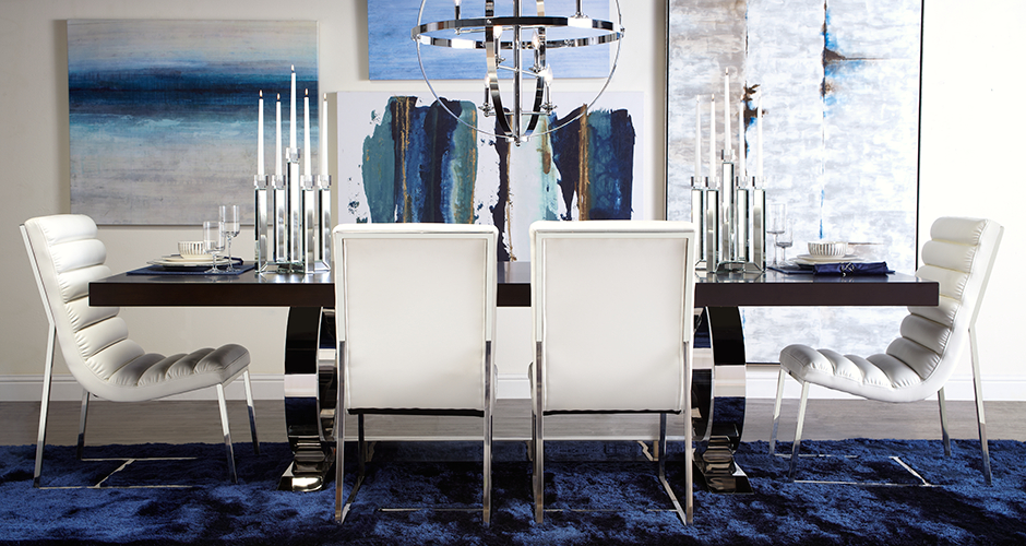 غرفة سفرة فخمة 9 كيف تختارين ألوان واكسسوارات متميزة لتحقيق الفخامة في غرفة السفرة