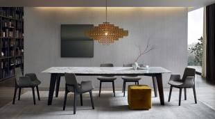 لمسات الفخامة والتميز في تصميمات 10غرف سفرة مودرن
