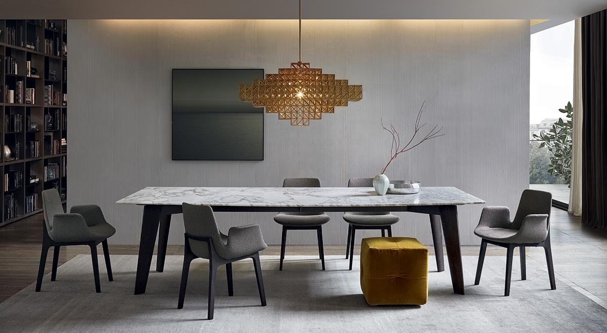 غرفة سفرة مودرن 1 لمسات الفخامة والتميز في تصميمات 10غرف سفرة مودرن