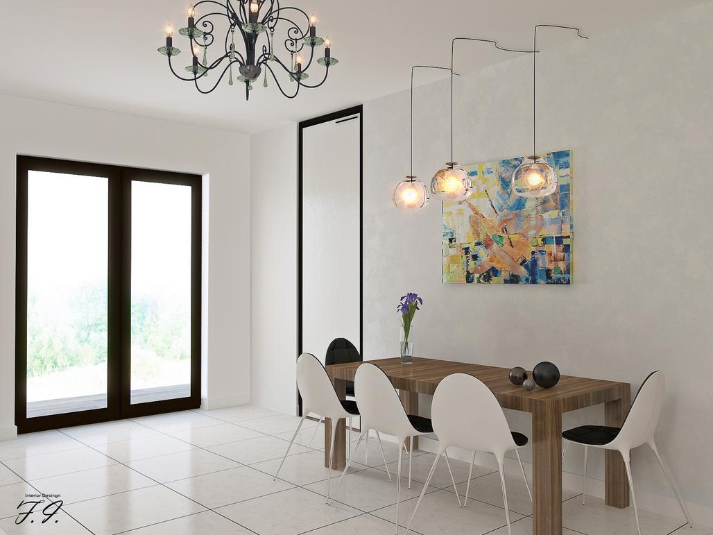 غرفة سفرة مودرن 7 العصرية والأناقة في 10 غرف سفرة مودرن بتصميمات متميزة