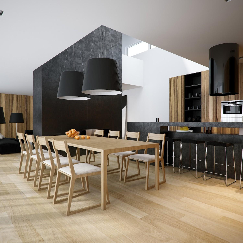 غرفة سفرة مودرن 8 1500x1500 العصرية والأناقة في 10 غرف سفرة مودرن بتصميمات متميزة