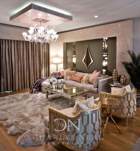 غرفة معيشة انيقة غرف معيشة تجمع بين الفخامة و الذوق العصري الحديث
