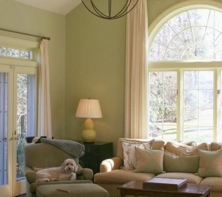 غرفة معيشة خضراء 2