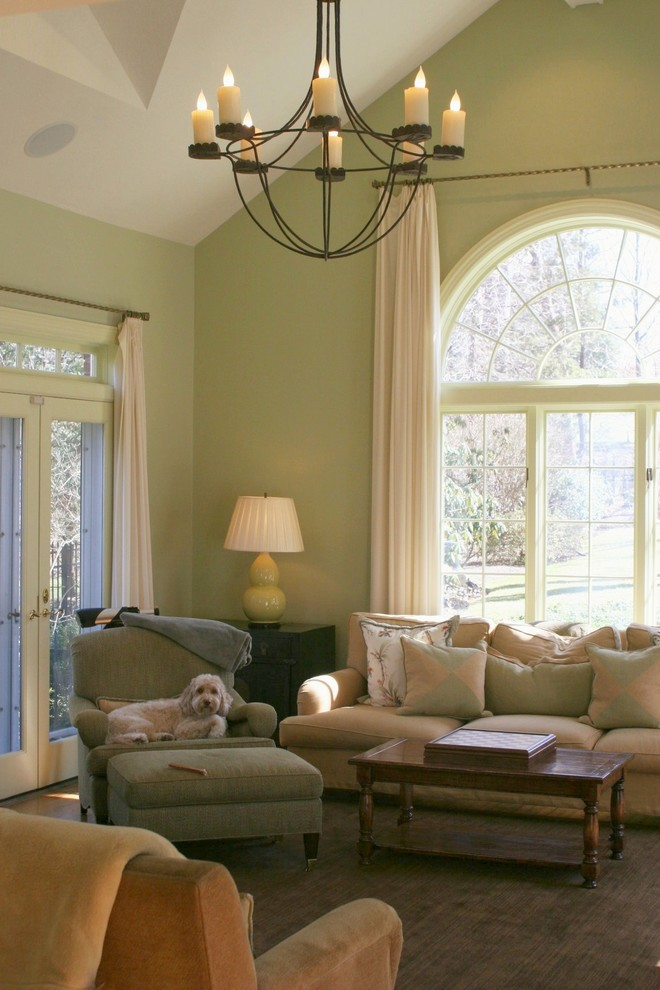غرفة معيشة خضراء 2 غرفة معيشة خضراء 2
