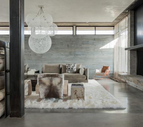 غرفة معيشة روستيك 3