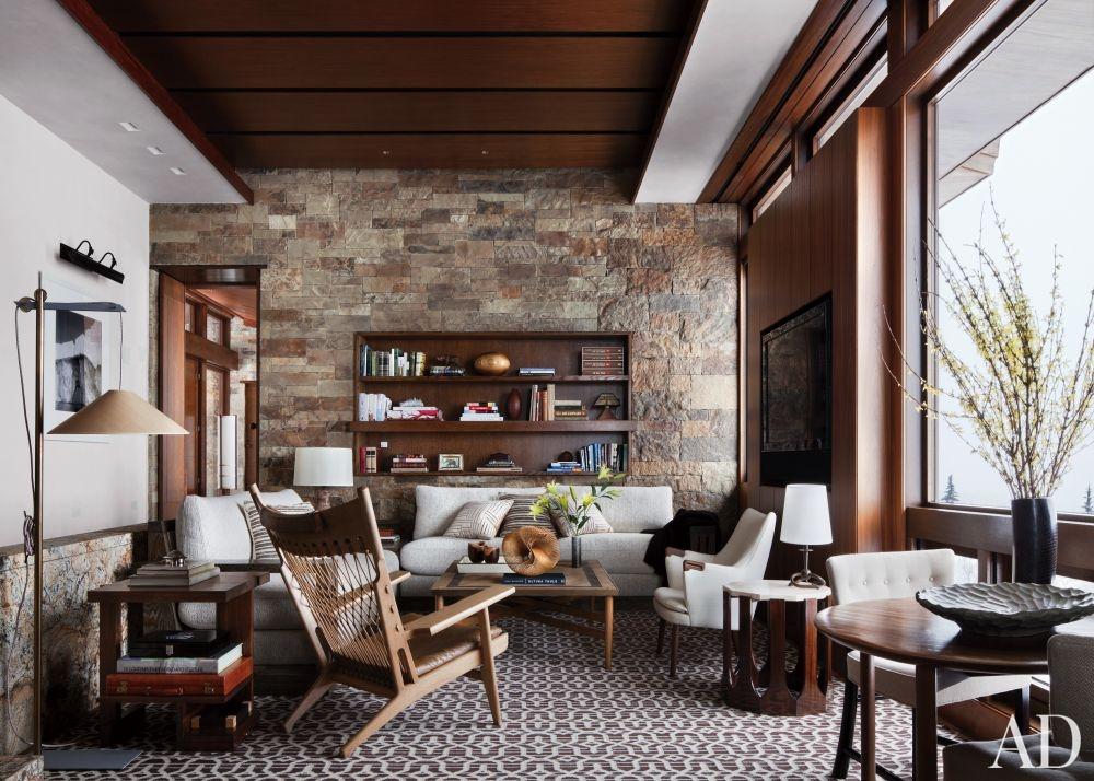 غرفة معيشة روستيك 5 أناقة وفخامة الروستيك في تصميمات غرف معيشة متميزة جدًا