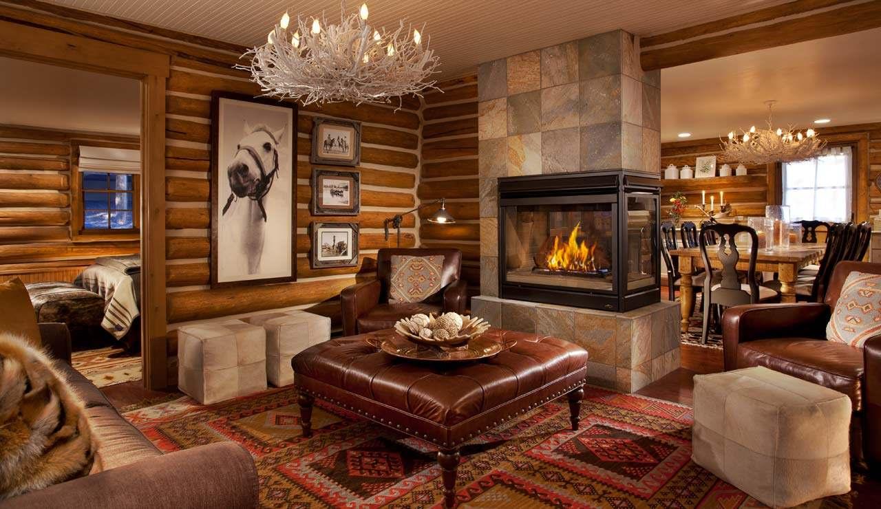 غرفة معيشة روستيك 8 أناقة وفخامة الروستيك في تصميمات غرف معيشة متميزة جدًا