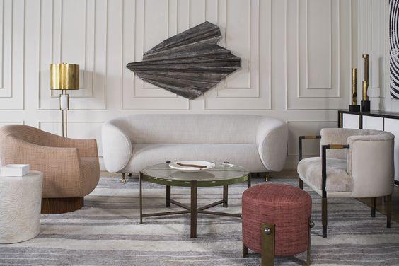 غرف معيشة تجمع بين الفخامة و الذوق العصري الحديث