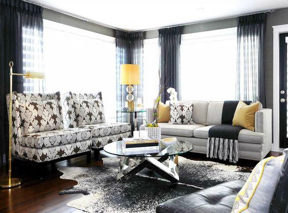 غرفة معيشة صغيرة 3 أجمل تصميمات مهندسة الديكور كيليويرستلر (Kelly Wrestler)